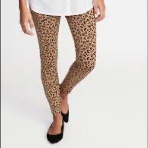 Old Navy Stevie Leopard Leggings